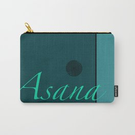 Asana Blue Carry-All Pouch