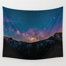 Galaxy Mountain Wall Tapestry