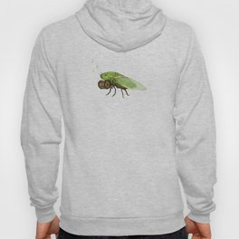 Cicada Playing a Sqeezebox Hoody