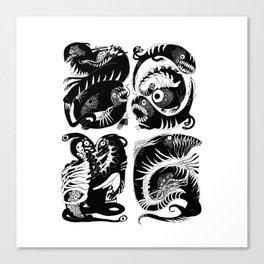 elctr eel Canvas Print