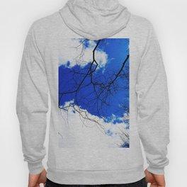Blue spring sky Hoody