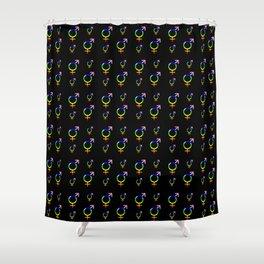 Symbol of Transgender 42 Shower Curtain