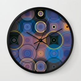 Just After Sunset Tingles Wall Clock