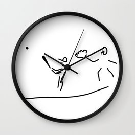 baseball usa sport Wall Clock