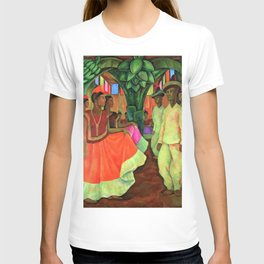 Dance in Tehuantepec by Diego Rivera T-shirt