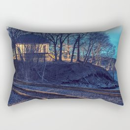 Railroad to the Music Room Rectangular Pillow