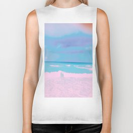 Pastel Calm Before The Storm Biker Tank