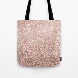 Sparkling Rose Gold Blush Glitter #2 #shiny #decor #art #society6 Tote Bag