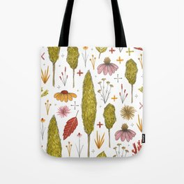 autumn in my yard Tote Bag