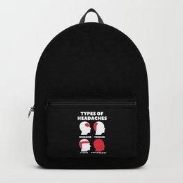 Psychology Headache Backpack