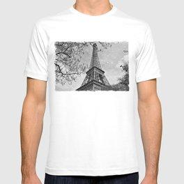 Half a Eiffel Tower T-shirt