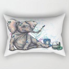 Prospero Paints Rectangular Pillow