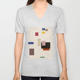 There Is No Dance In Frequency And Balance Unisex V-Neck
