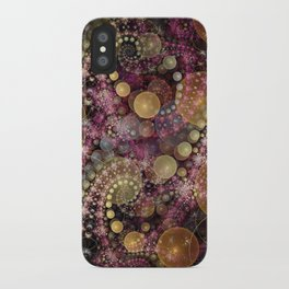 Magical dream, fractal abstract iPhone Case
