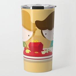 Fast Food Love Travel Mug