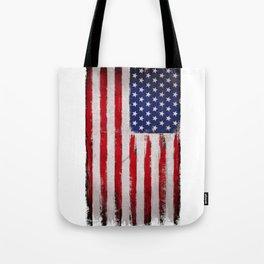 Grunge America Tote Bag