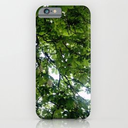 Greenery and leaf VIII iPhone Case
