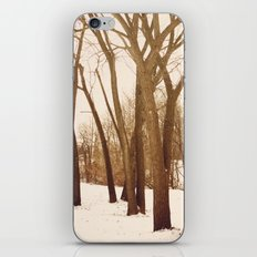 Resting Trees iPhone Skin