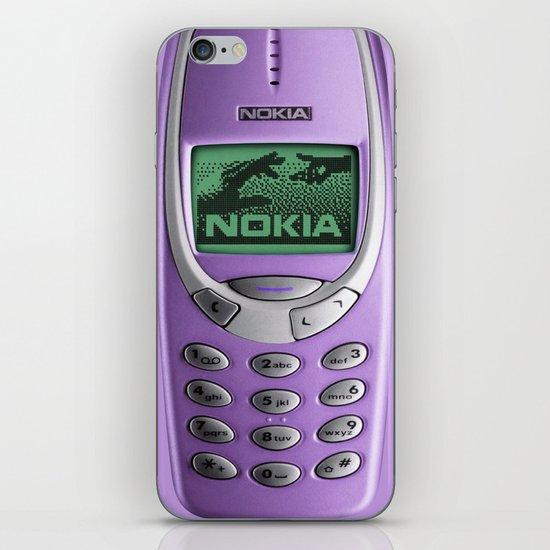 OLD NOKIA Purple iPhone Skin