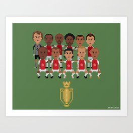 Arsenal Invincibles (squad) Art Print