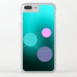 The 3 dots, power game 2 Clear iPhone Case