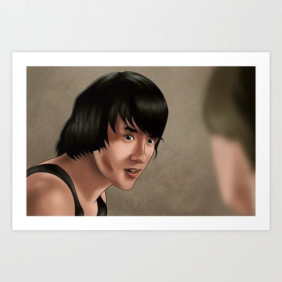 Jackie Chan Art Print