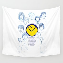 LEEDS UNITED 1972 Wall Tapestry