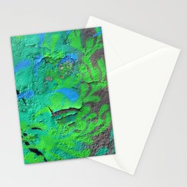 Green Entropy II Stationery Cards