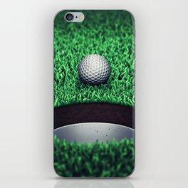 Golfing iPhone Skin