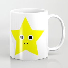 Sad Star Coffee Mug