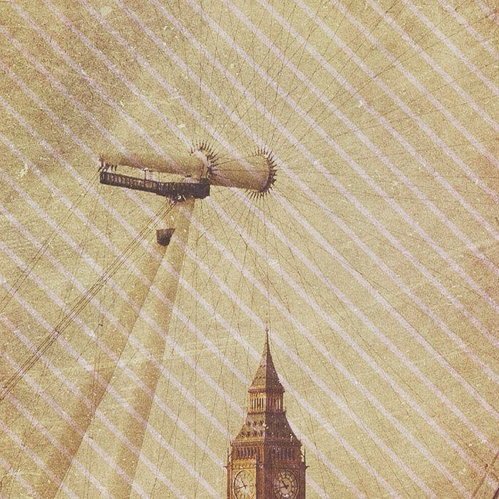 Big Ben in the Eye of London Leggings