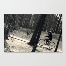 Ride Along Canvas Print