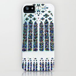 Cathedrale Mosaic window iPhone Case