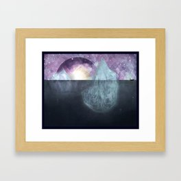 All of a Sudden I Miss Everyone (Variation) Framed Art Print