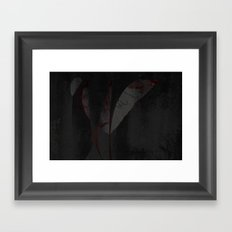 Sweat Drops of Blood (by Troy DeShano) Framed Art Print