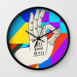 All good, mate Wall Clock