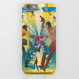 retro levis in america. portfolio with oversized poster and 8 photomechanical plates. 1971  iPhone Case