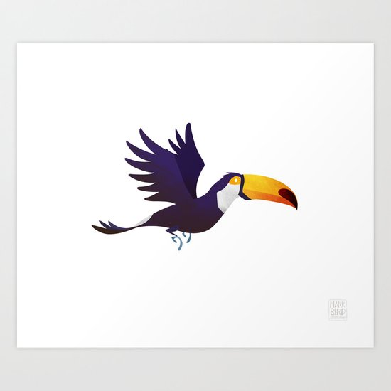 Wild Adventure - Toucan Art Print