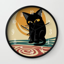 An eddy Wall Clock