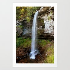 Lower Falls of Hills Creek Art Print