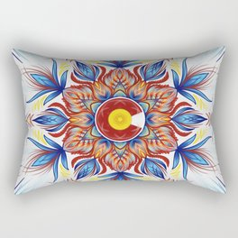 Colorado Mandala  Rectangular Pillow