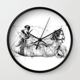 Different and One and the same. ©Yury Fadeev Wall Clock