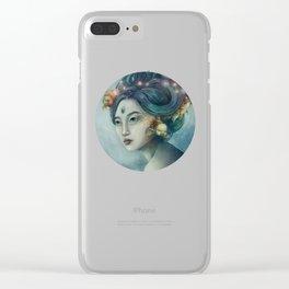 Zodiac Pisces Clear iPhone Case