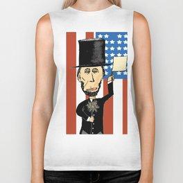 President Lincoln Celebrates Biker Tank