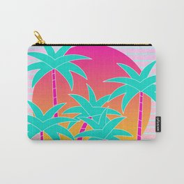 Hello Miami Sunset Carry-All Pouch