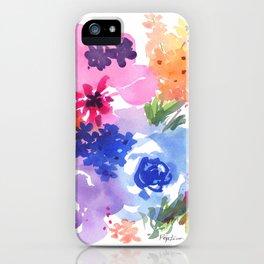 Pastel Bouquet iPhone Case