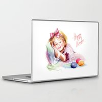 easter Laptop & iPad Skins featuring Easter by tatiana-teni