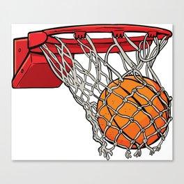 ball basket Canvas Print