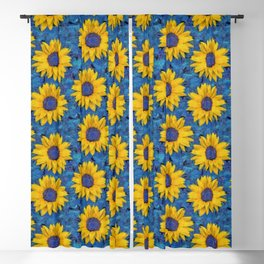 Sunflower Blackout Curtain