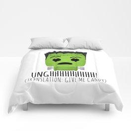 Frankenstein Wants Candy Comforters
